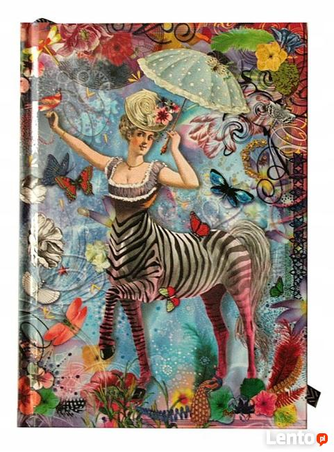 Ekskluzywny notes Christian Lacroix Paris Zebra Girl Journal