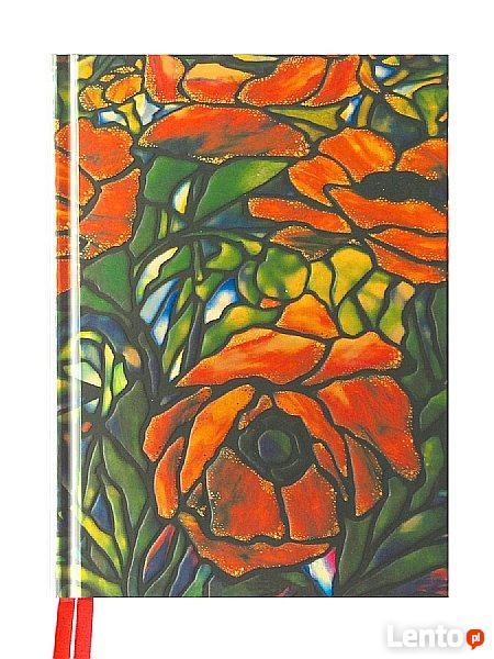 Rysownik Flame Tree szkicownik notes sketchbook Tiffany