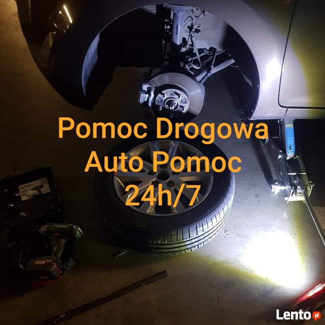 Laweta tanio Warszawa, Pomoc Drogowa 24h, Warsztat