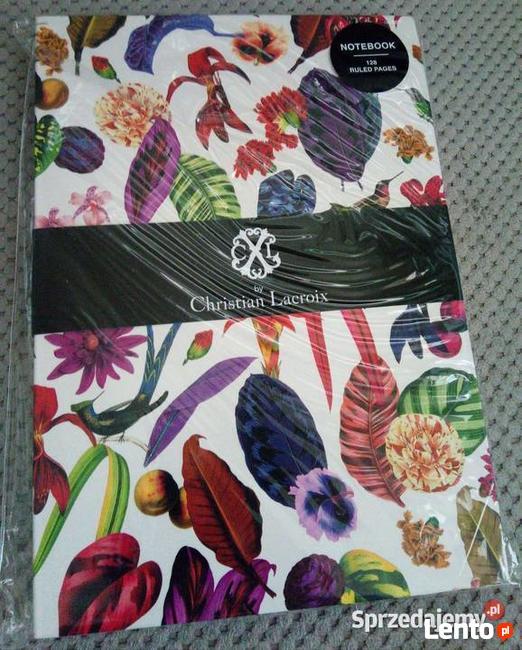 Koliberek rajski ogród Christian Lacroix ekskluzywny notes