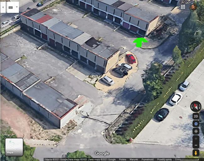 Wynajmę garaż przy skrzyżowaniu ul. Grabowej i ul. Jesionowe
