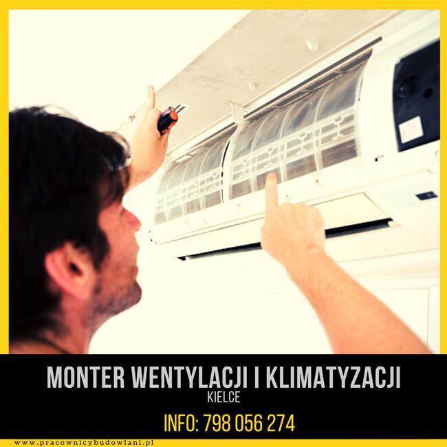 Monter Wentylacji i Klimatyzacji - od zaraz !