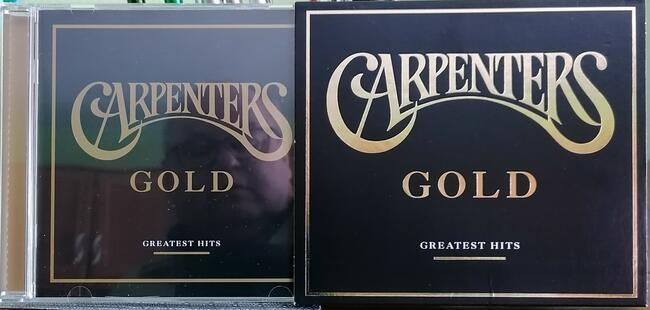 CD Carpenters - Gold - Greatest Hits. Pop Music 70 s USA.
