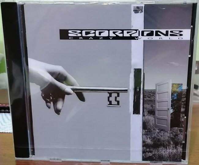CD SCORPIONS - Crazy World. Hard Rock. Rarytas.