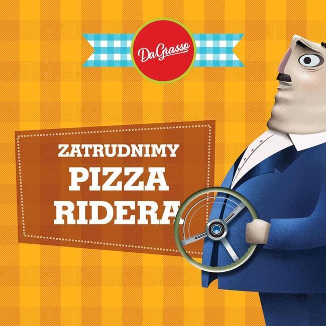 Kierowca / dostawca pizzeria DaGrasso (kat. B)