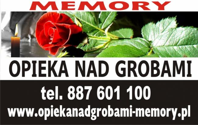 Opieka nad grobami MEMORY