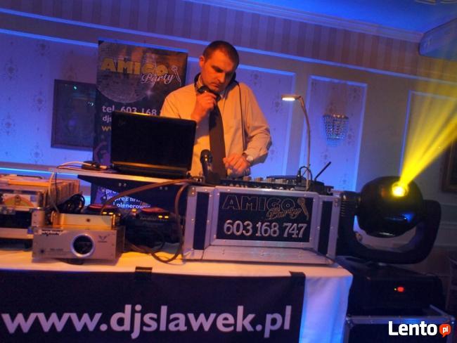 DJ wodzirej w jednej osobie na wesele.