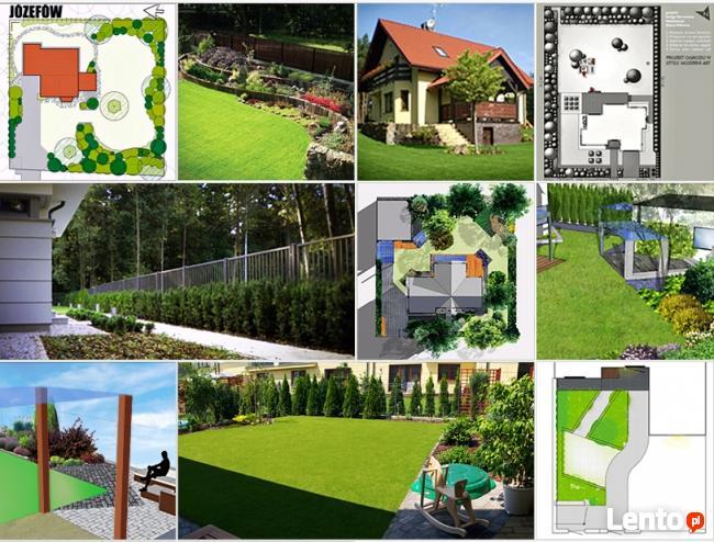 Architektura Krajobrazu, projektowanie ogrodów i tarasów