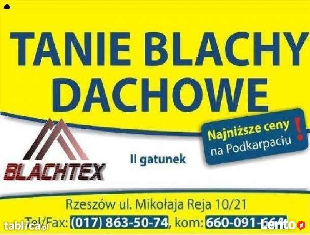 Tania Blacha Dachowa 1 i 2 Klasa RZESZÓW