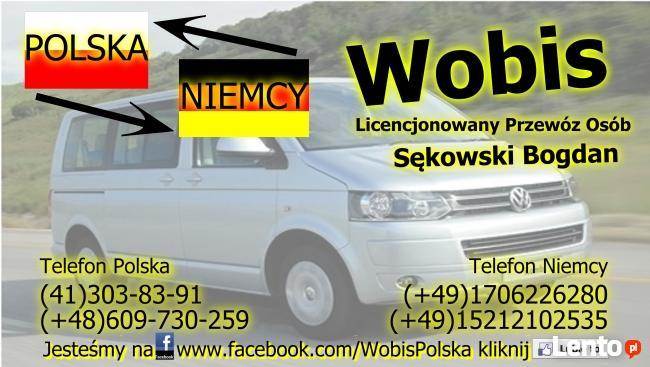 Przewóz osób POLSKA-NIEMCY. Profesjonalnie.Tanio.Bezpiecznie