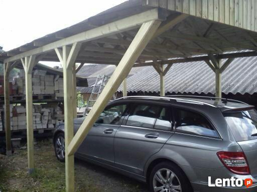 WIATY Garażowe CARPORT Altana WIATA