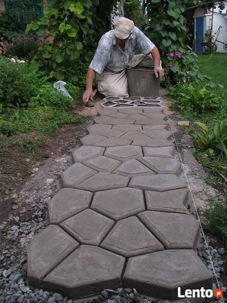 Forma do kostki betonowej - Kocie Łby 60x60 cm