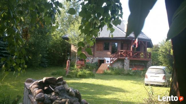 Dom 250mcałoroczny nad jeziorem Orzysz