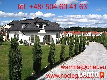 NOCLEGI, POKOJE w Olsztynie - dla pracowników, turystów