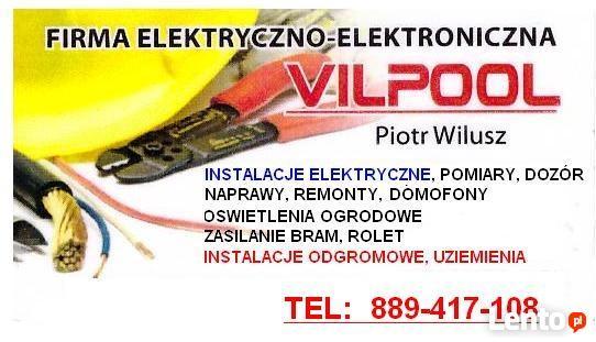 INSTALACJE ELEKTRYCZNE KROSNO sanok jaslo 25zl 889417108