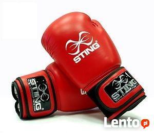 STING Rękawice bokserskie z atestem AIBA