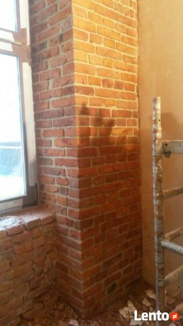 Renowacja cegły & Fugowanie tradycyjne