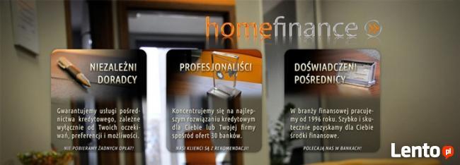Homefinance BEZPŁATNE POŚREDNICTWO KREDYTOWE