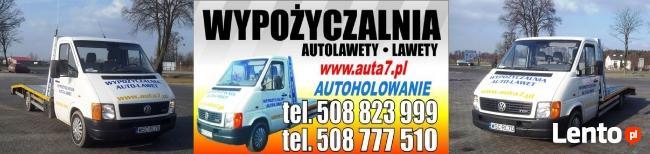 Autolaweta Wynajem Wypożyczalnia Auto lawet 250zł