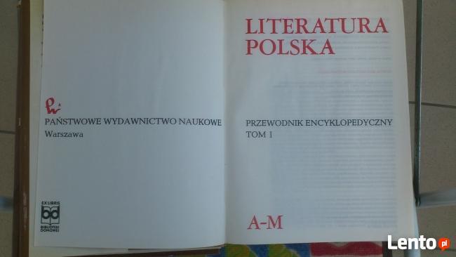Literatura polska - przewodnik encyklopedyczny