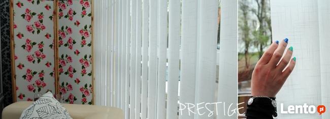 Żaluzje pionowe Vertical na wymiar Prestige