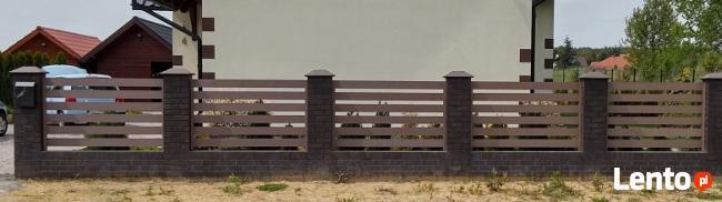 ogrodzenia - tarasy z kompozytu drewna