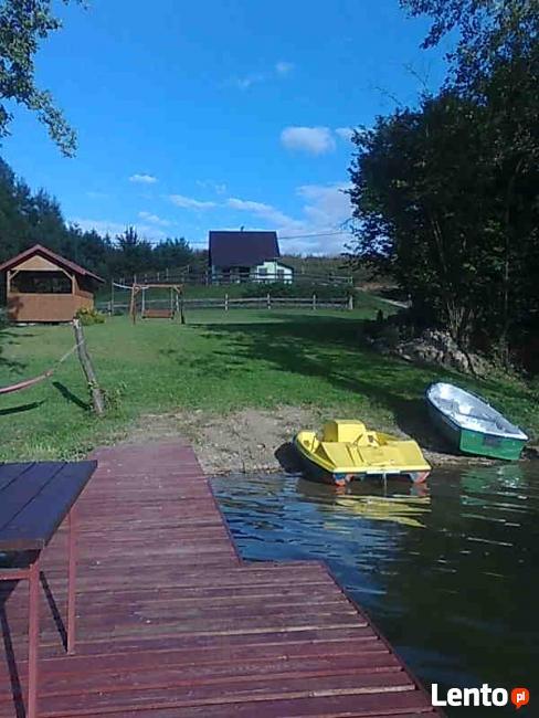 domek letniskowy do wynajęcia nad jeziorem Sztabinki
