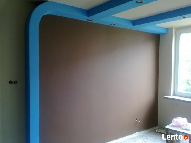 Remonty Mieszkań - Sufity Podwieszane Gładzie Malowanie