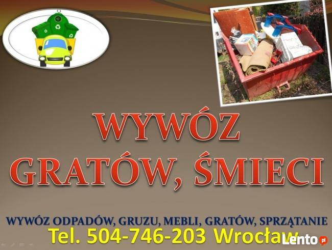 Wywóz, sprzątanie, utylizacja, strych, dom, piwnica, cena