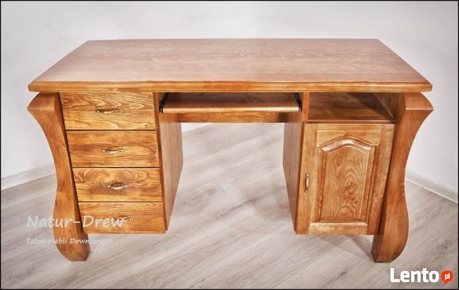 Nowe Solidne Drewniane Biurko Love - PRODUCENT