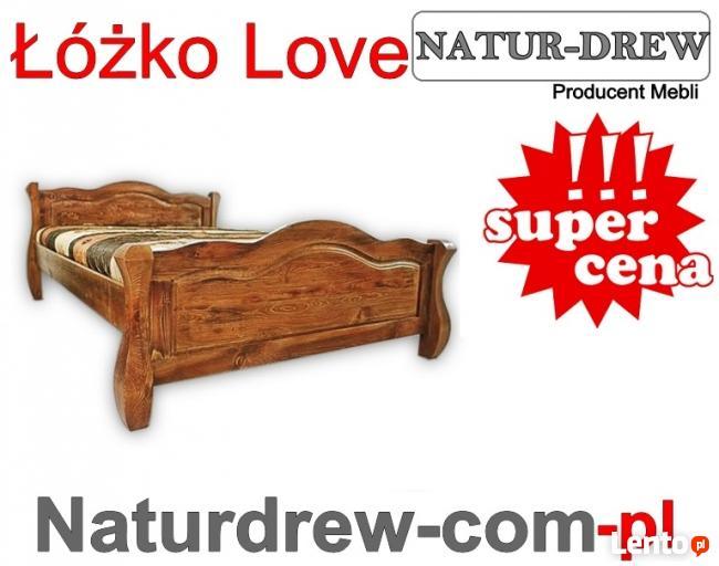 Drewniana Sypialnia 200x200 - różne Kolory - PRODUCENT