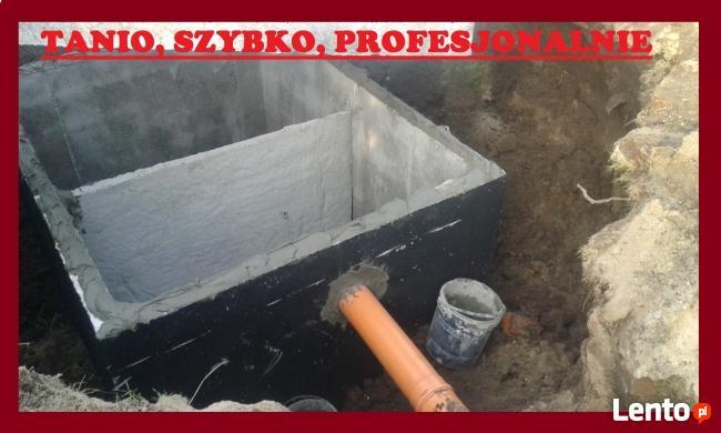 Szamba betonowe szczelne z atestem – producent.