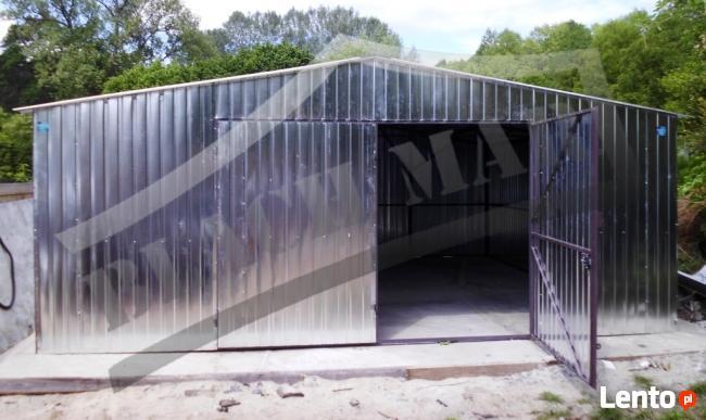 Garaż blaszany garaże blaszane 6x6 Dwuspadowy