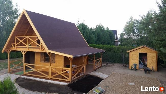 Budowa domów drewnianych szkieletowych, letniskowych