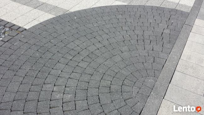 Kostka Brukowa Piccola kolor nero (płukana) 6cm Kostka Premi