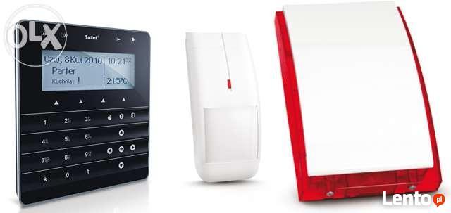 Montaż alarmu montaż kamer montaż domofonu wideodomofonu