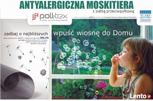 Moskitiery ORLITA kontra pyłki i alergeny