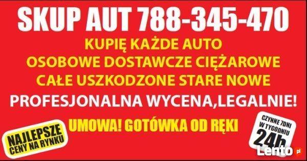 788345470 skup AUT! kupujemy auta nawet do 80 000tys zł