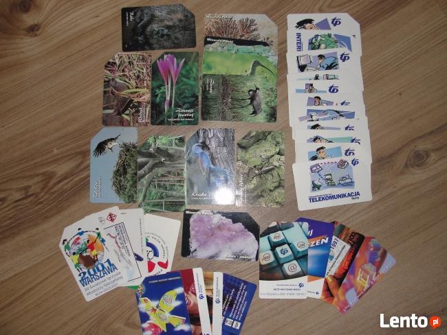 Karty magnetyczne, chipowe -krajowe i zagraniczne