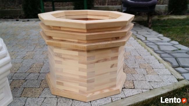 drewniane donice