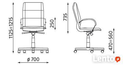 Fotel biurowy Star steel04 chrome z mechanizmem Multiblock N
