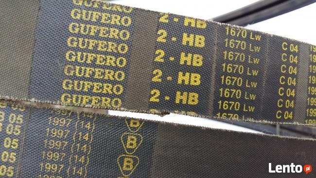Pas klinowy 2 HB 1670