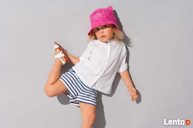 Kapelusze Broel na lato dla dzieci dziewczynka od 36-56 cm
