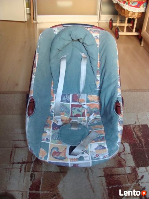 fotelik samochodowy nosidełko bujaczek do 10 kg