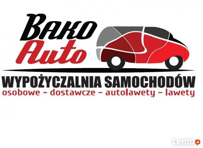 wypożyczalnia samochodów osobowych, dostawczych,autolawet