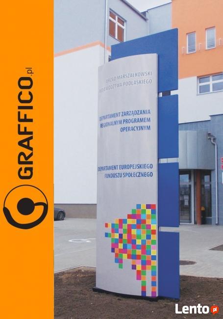 tablica, reklama dla miast i gmin_ GRAFFICO
