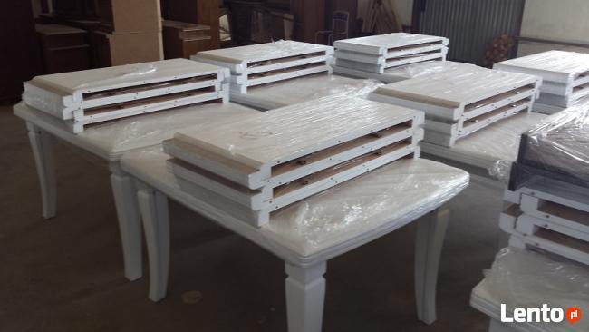 Producent mebli drewnianych, fornirowanych, stół kolorystyka