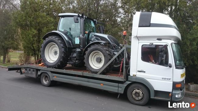 Transport ciągników rolniczych, sprzętu rolniczego