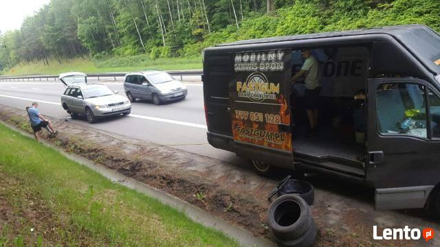 Wulkanizacja 24h Gdynia usuwanie awarii na drodze !!