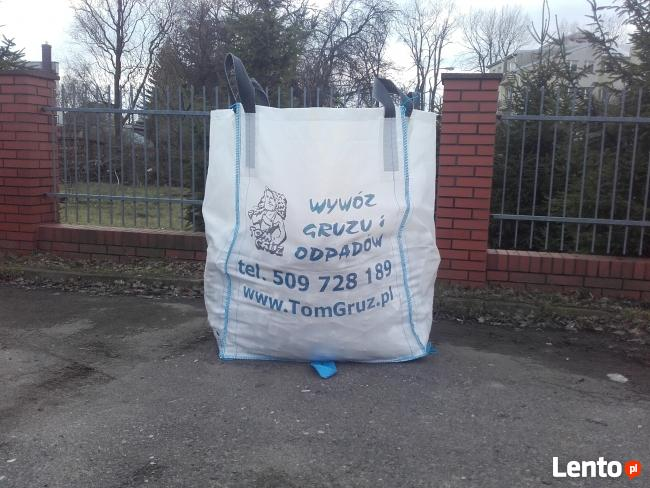 Big Bag na gruz Warszawa, Worek na gruz, Warszawa.